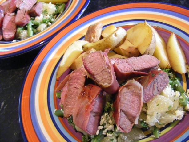 Prosciutto Lamb & Roast Kipflers (21 Day Wonder Diet:day 9)
