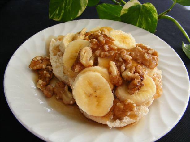 Banana Walnut Syrup