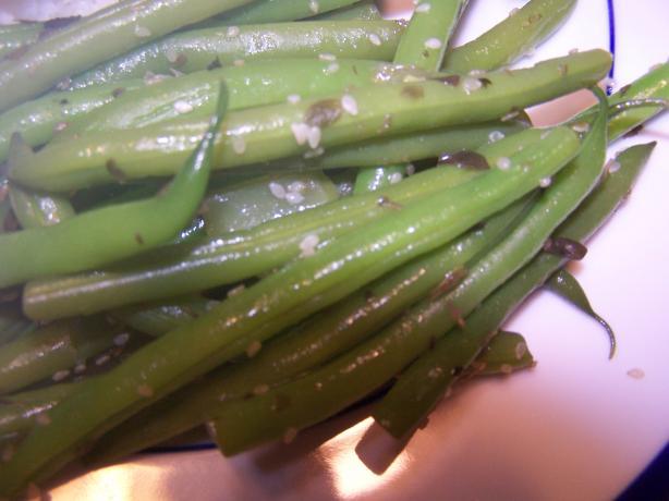 Savory Sesame Green Beans