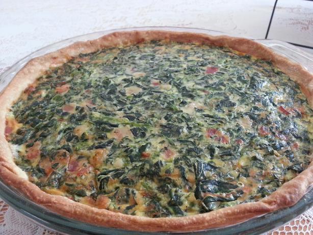 Bacon-Spinach Quiche