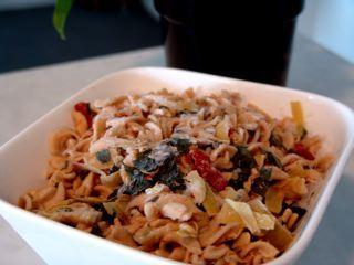 Artichoke, Sun-Dried Tomato & Fusilli