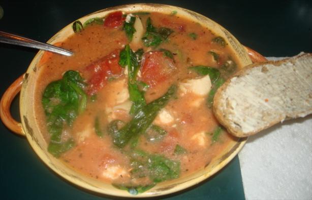 Chicken Feta Soup