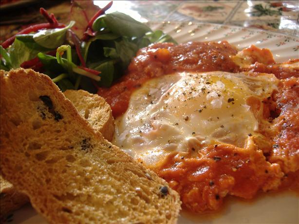 Tasty Tomato Fried Eggs