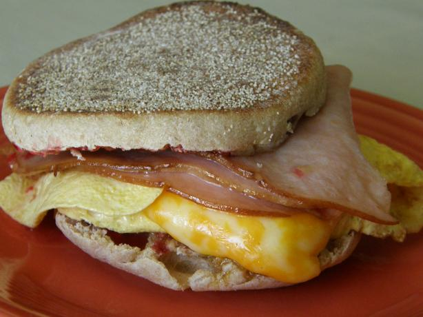 Cranky Egg Sandwich