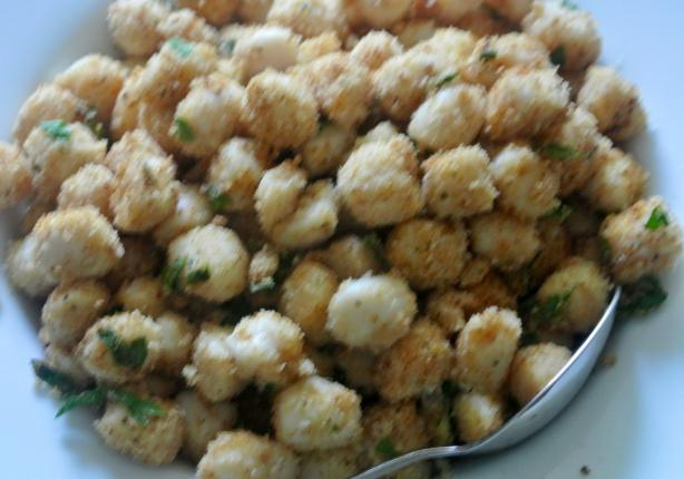 Scallops With Garlic Bread Crumbs-Weight Watchers