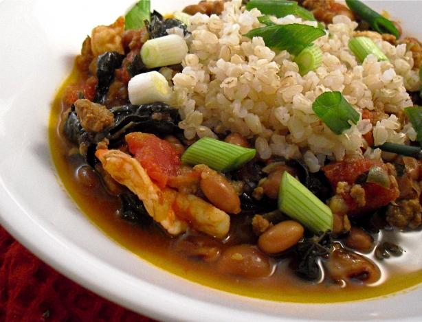 Hoppin' John With Shrimp (Weight Watchers)