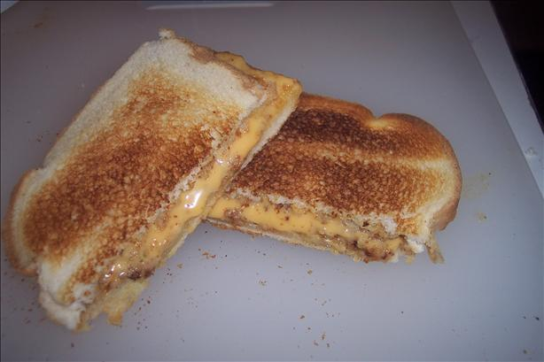 Too Sick to Cook Cheese Sandwich