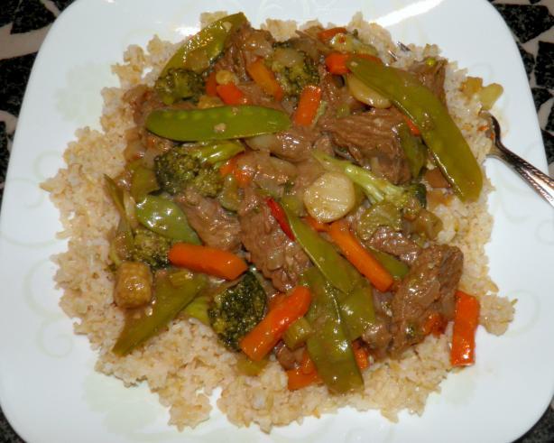 Soy-Sesame Beef Stir-Fry