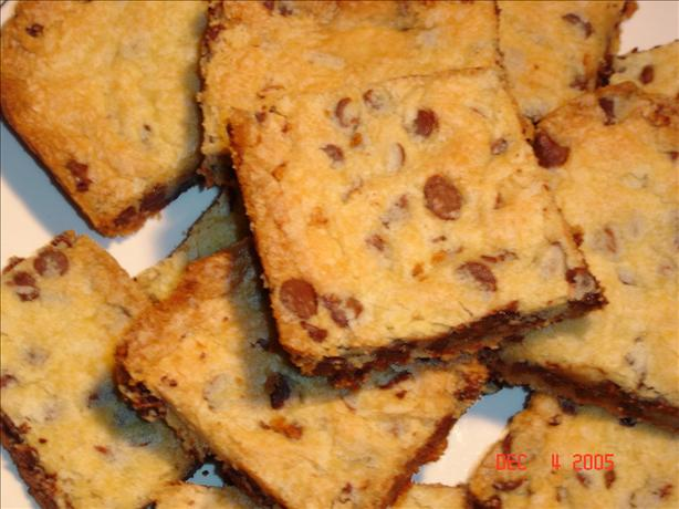 Bare Pantry Chocolate Chip Cookie Bars