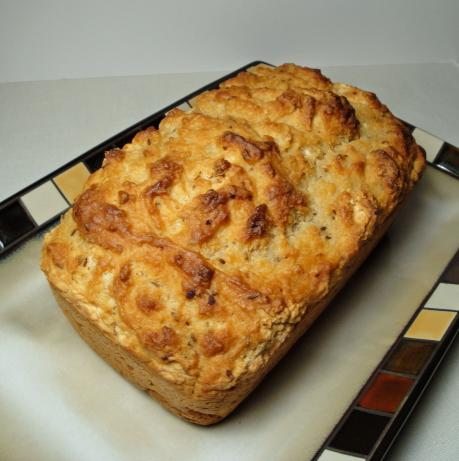 Onion Caraway Beer Bread
