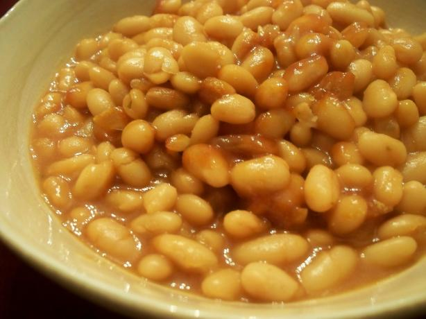 "Vegetarian ""baked"" Beans (Crock Pot)"