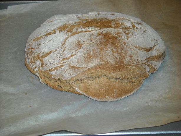 German Style Grey Bread (Rye-Wheat Mix) Graubrot