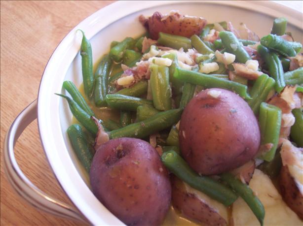 Dee's Green Beans in Crock Pot
