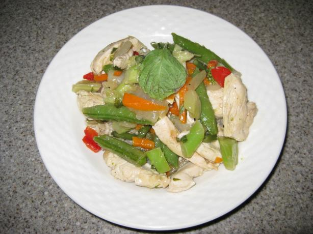 Lemon Basil Chicken and Vegetables