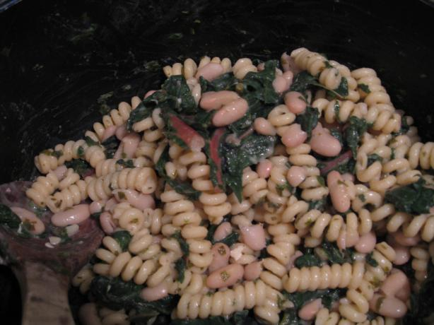 Chef-Boy-I-Be Illinois' Cavatappi With Swiss Chard