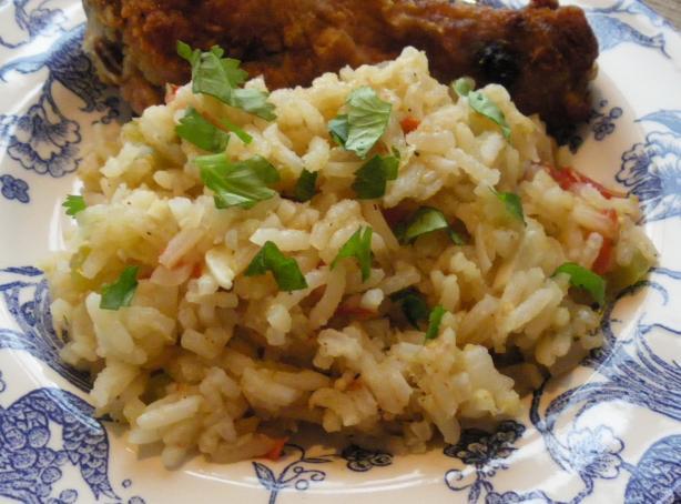 Zesty Spanish Rice Low Fat