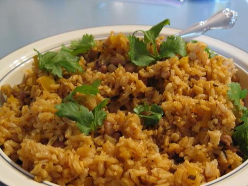 Bahamian Peas and Rice