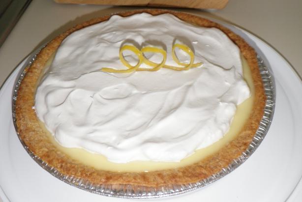 Lemon-Sour Cream Pie