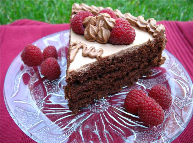 Whole Wheat Raspberry Cake