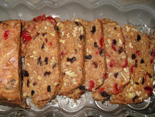Granmama's Uncooked (No Bake, No Cook) Fruitcake