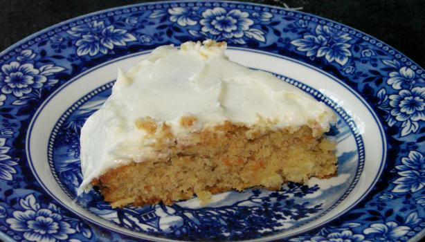 Nutty Pineapple Carrot Cake