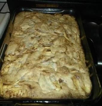 My Mom's Soft Apple Cake