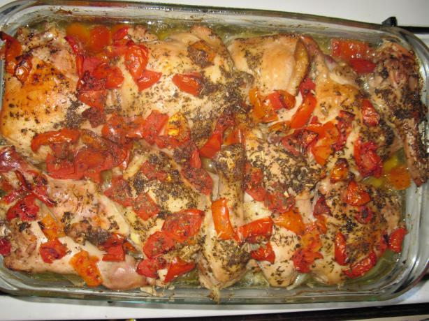 Tomato Garlic Chicken