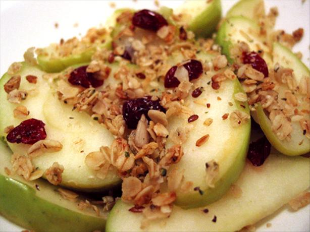 Sautéed Apple Crisp With Cranberries