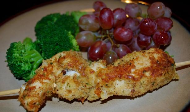 Barefoot Contessa's Parmesan Chicken Sticks