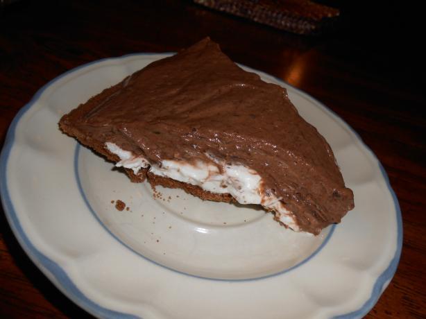 Easy Chocolate Cream Cheese Layer Pie