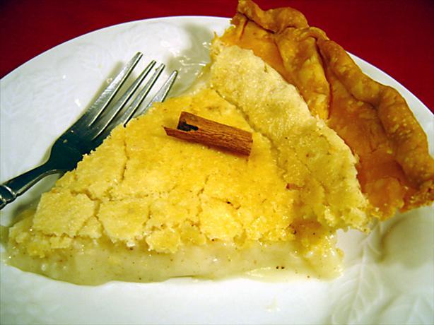 Amish Sugar Cream Pie