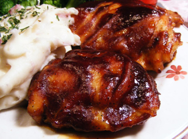 Kittencal's Easy Oven-Baked Barbecued Chicken