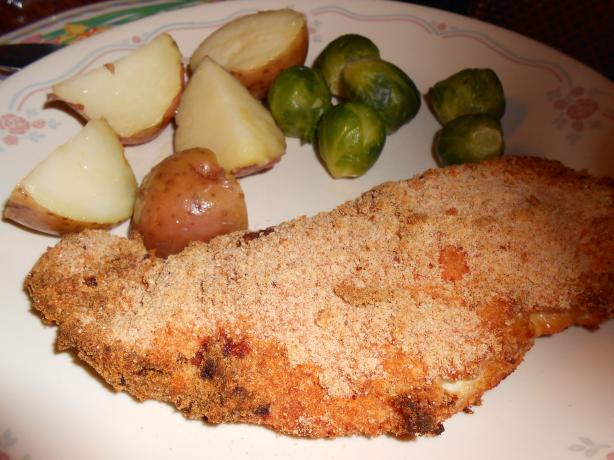 Oven-Fried Chicken Breasts With New Potatoes