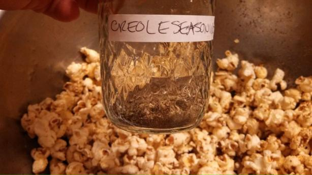 Creole Spiced Popcorn