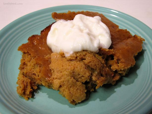 Crustless Gluten Free Pumpkin Pie