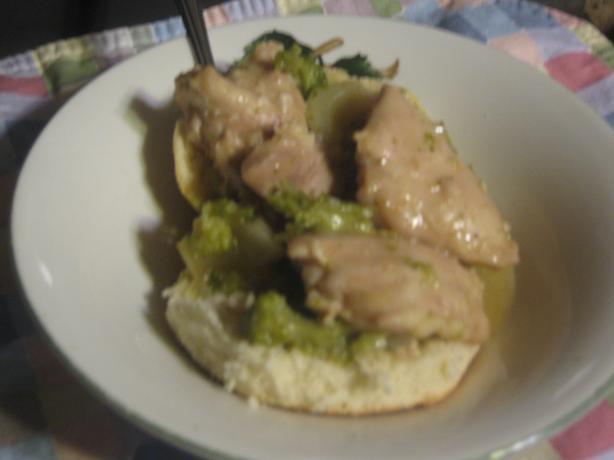 Slow Cooker Upside Down Chicken Pot Pie