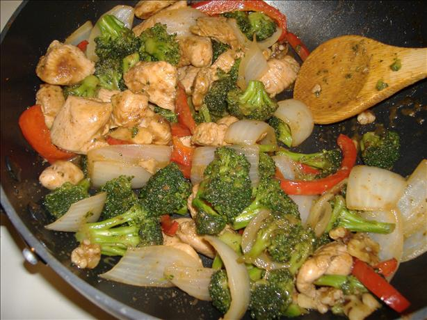 Walnut Chicken Stir-Fry