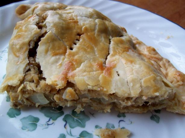 Salmon Foldover Pie