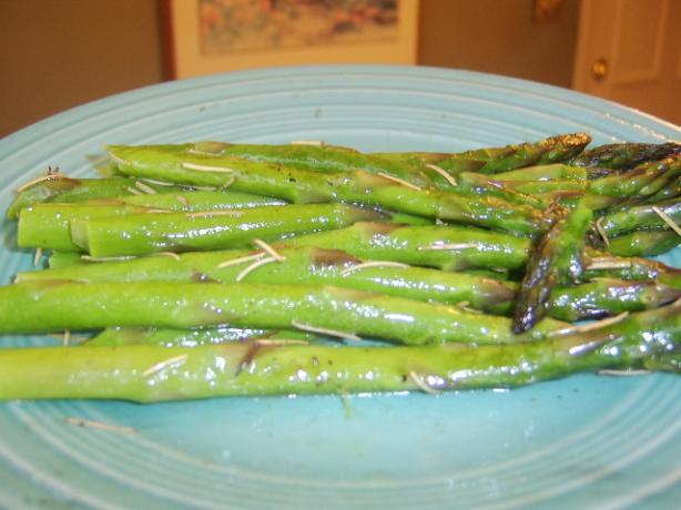 Quick BBQ Asparagus