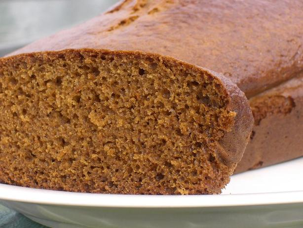 Old Fashioned Gingerbread Loaf