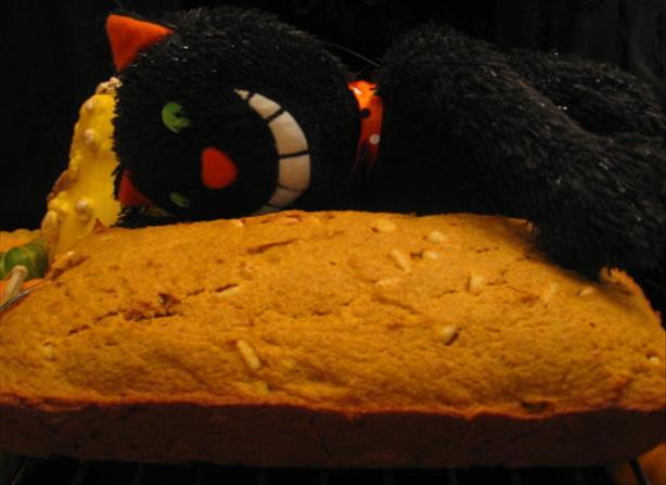 Pumpkin-Pine Nut Bread