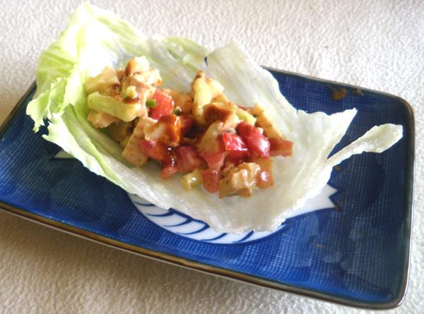 Chicken Lettuce Wrap (4 Ww Points)