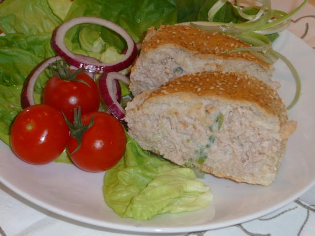 Baked Tuna Burger