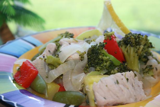 Stir Fried Pork With Vegetables (Ww)