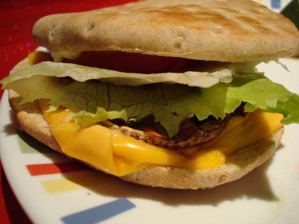 Grilled Portabella Mushroom Burgers