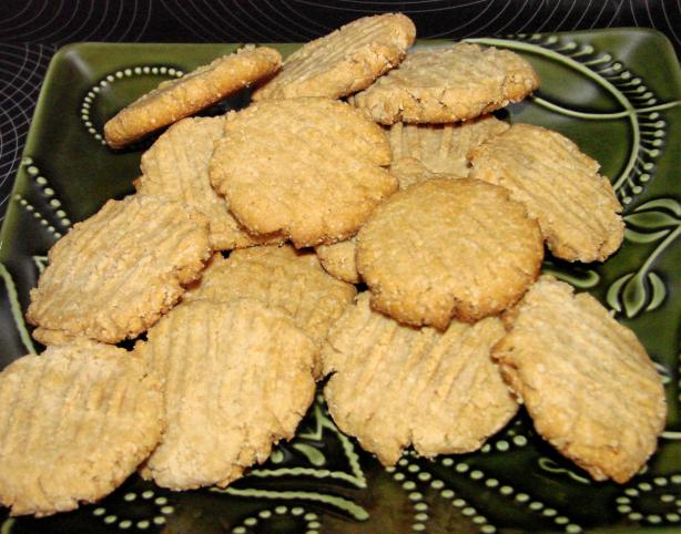Healthy Peanut Butter & Honey Cookies