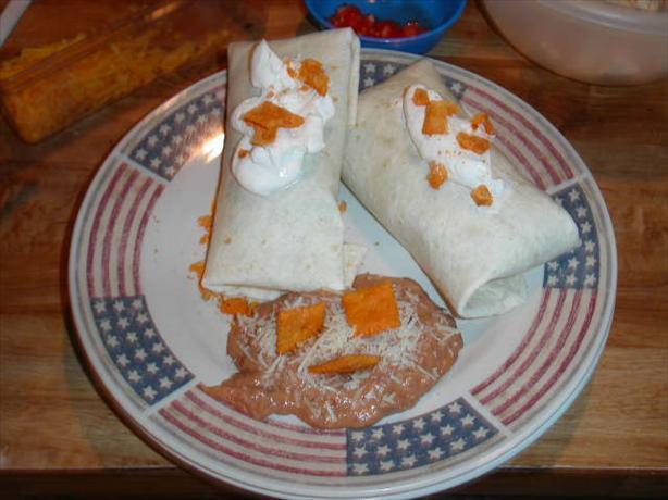 Grilled Chicken Cheez-It Wraps