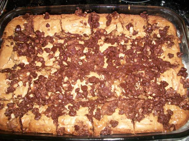 Twix Blondies