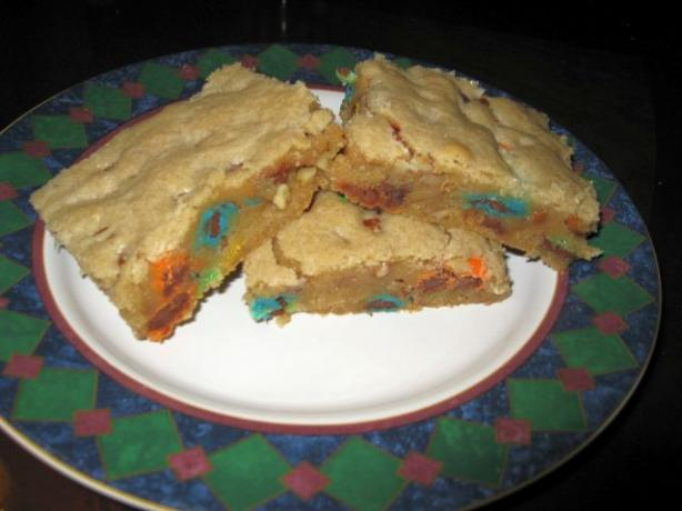 Rainbow Blondies