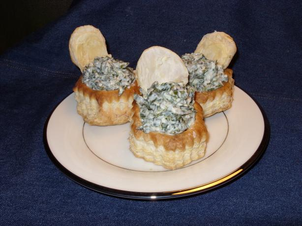 Spanakopita in Pastry Cups